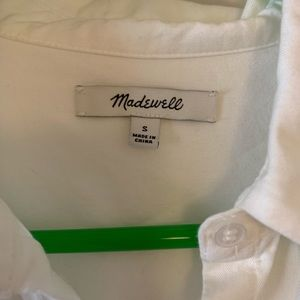 Madewell Tops - Madewell white button up blouse